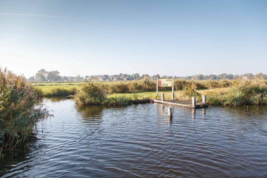 Foto aanlegplaats Zuiderschorre, Ilperveld. F.L.Snijders