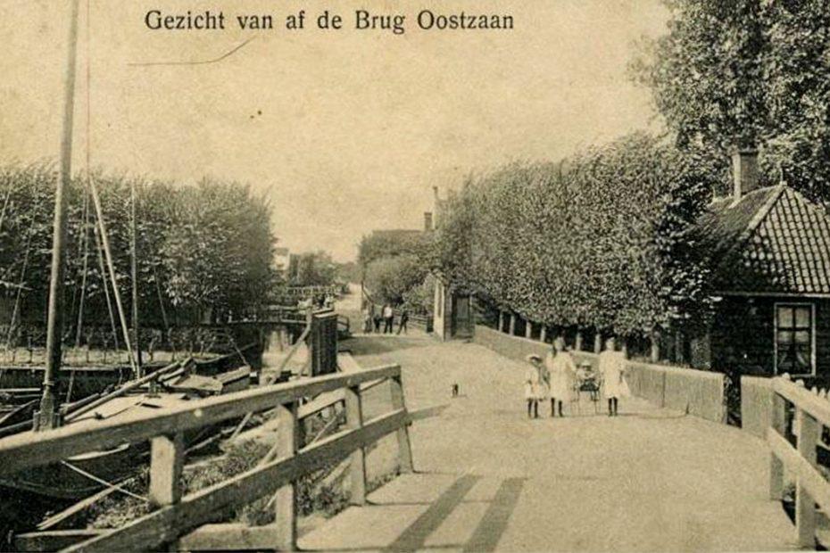 Bruggetje Zuideinde/Oostzanerdijk, 19xx, Zwart/wit foto