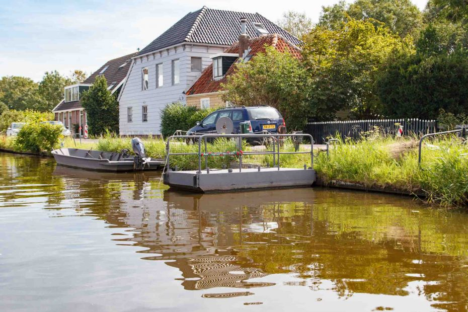 Foto Broekervaart met trekpontje