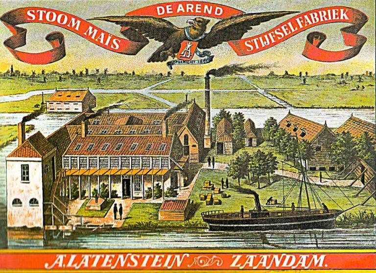 Affische Stijselfabriek De Arend