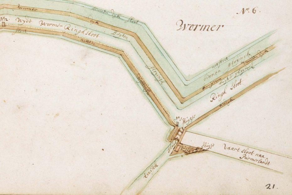Kaart Leupenius 1693, Twisker/Suzannesluisjes